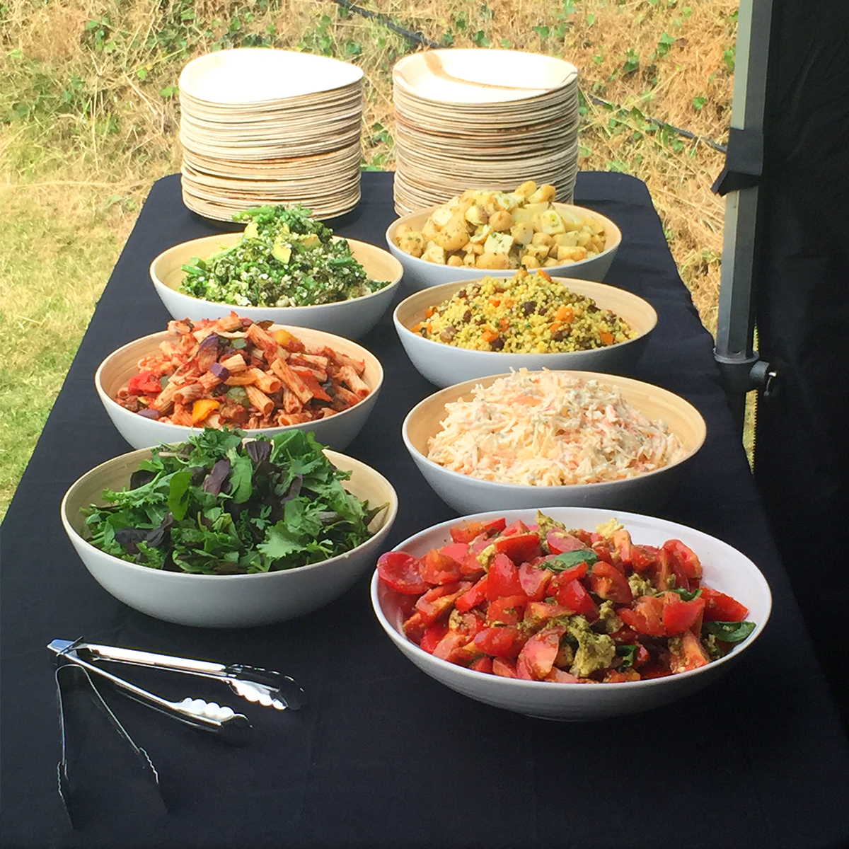 Full selection of delicious salads freshly prepared so you don't have to!